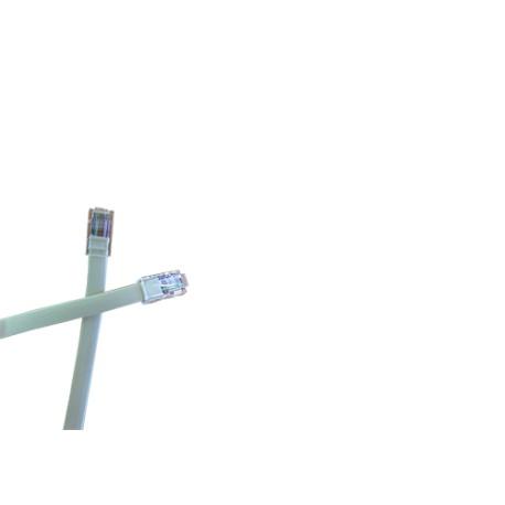 Cordon de brassage téléphonique RJ45 - 1m