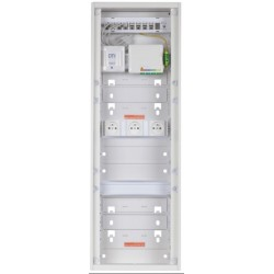 C-Smart750 - Grade 3TV - 8RJ45 Cat. 6A blindés - DTIo/DTI