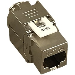 Connecteur Keystone RJ45 Grade 3TV Cat. 6A