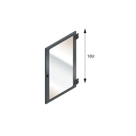 MEZZO - Porte vitrée pour ensemble 10U
